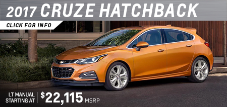 Click to research the new 2017 Chevrolet Cruze Hatchback in Salem, OR