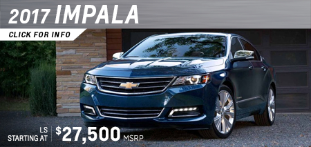 Click to research the new 2017 Chevrolet Impala model in Salem, OR