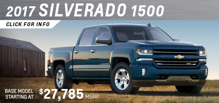 Click to research the 2017 Chevrolet Silverado 1500 model in Salem, OR