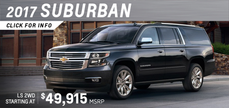 Click to research the 2017 Chevrolet Suburban model in Salem, OR