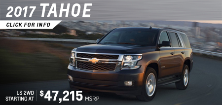Click to reseach the new 2017 Chevrolet Tahoe in Salem, OR