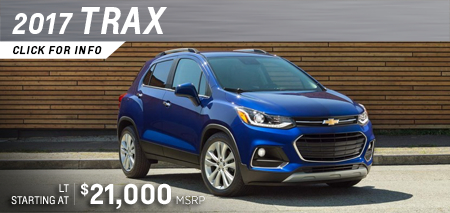 Click to research the new 2017 Chevrolet Trax model in Salem, OR