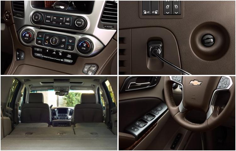 New 2017 Chevrolet Suburban Model Detail Information El