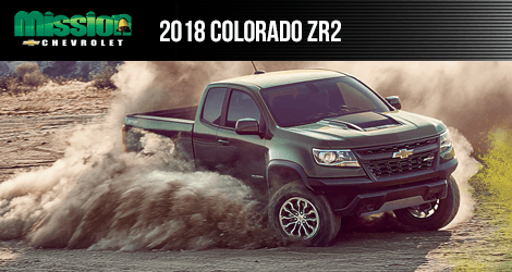 Learn More About The 2018 Chevrolet Colorado ZR2 Available At Mission  Chevrolet Serving El Paso,