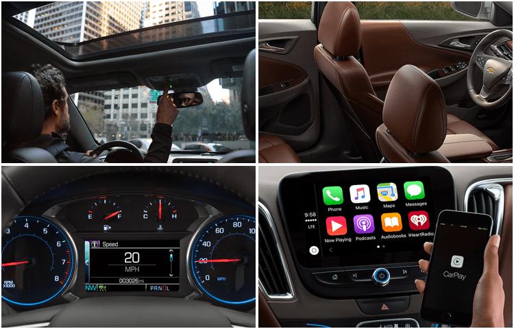 New 2018 Chevrolet Malibu Details Feature Mid Size Car Model Research Information El Paso Tx