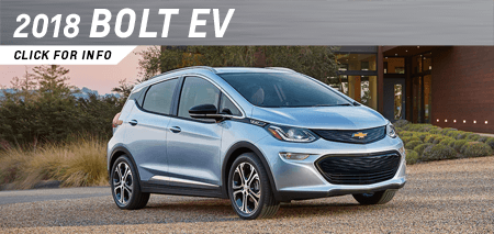 Click to view our 2018 Bolt EV model information at Capitol Chevrolet in Salem, OR