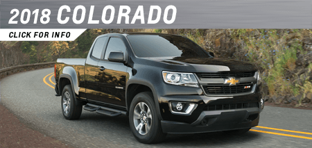 Click to view our 2018 Colorado model information at Capitol Chevrolet in Salem, OR