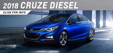 Click to research the 2018 Cruze Diesel model at Capitol Chevrolet in Salem, OR