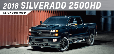 Click to view our 2018 Silverado 2500HD model information at Capitol Chevrolet in Salem, OR
