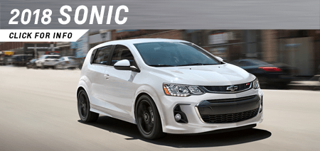 Browse our 2018 Sonic model information at Capitol Chevrolet in Salem, OR