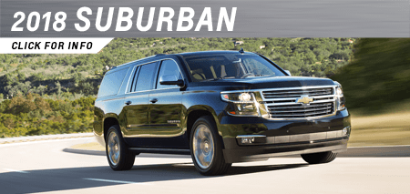 Click to view our 2018 Suburban model information at Capitol Chevrolet in Salem, OR