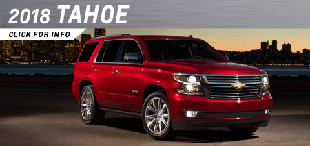 Click to research the new 2018 Tahoe model at Capitol Chevrolet in Salem, OR