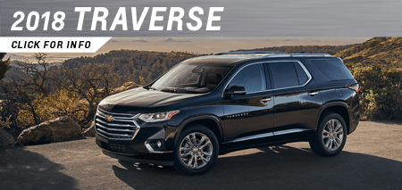 Click to research the new 2018 Traverse model at Capitol Chevrolet in Salem, OR