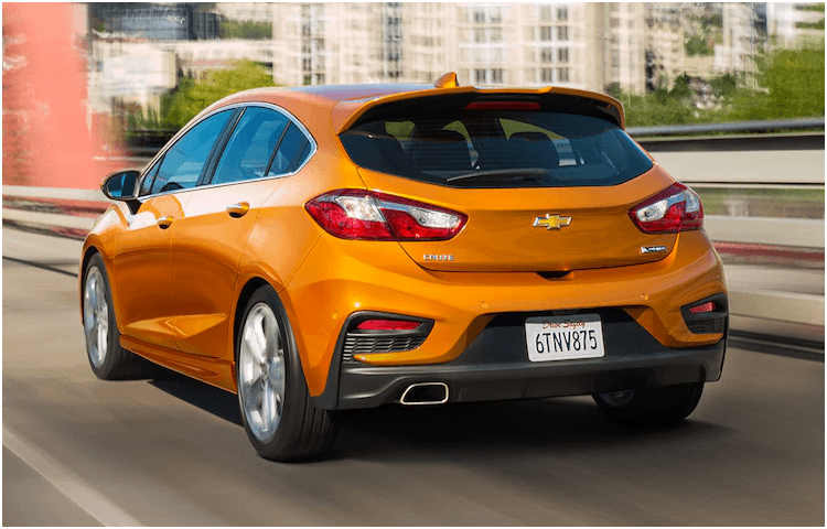 Image result for 2018 chevy cruze hatchback