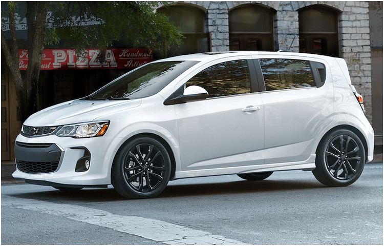 2018 Chevrolet Sonic Model | Small Car Research ...
