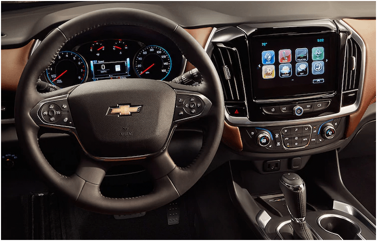 2018 Chevrolet Traverse Mid Size Suv Models Research Portland Or