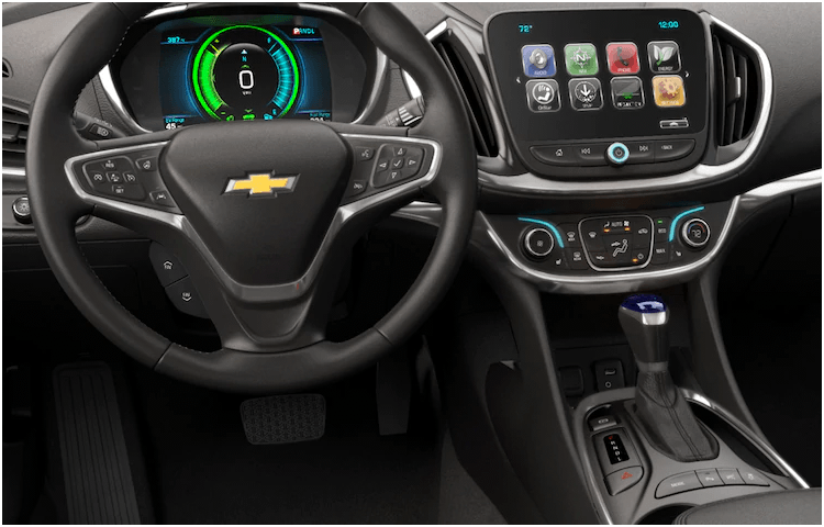 2018 Chevrolet Volt Interior Styling