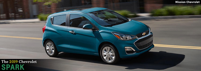 2019 Chevrolet Spark Affordable Subcompact Hatchback In El