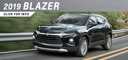 Click to research the new 2019 Chevrolet Blazer model at Capitol Chevrolet in Salem, OR