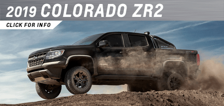 Click to research the new 2019 Chevrolet Colorado ZR2 model at Capitol Chevrolet in Salem, OR