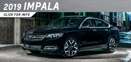 Browse our 2019 Impala model information at Capitol Chevrolet in Salem, OR