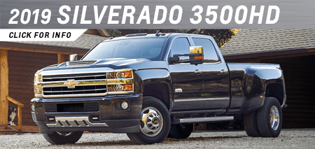Click to research the new 2019 Chevrolet Silverado 3500HD model at Capitol Chevrolet in Salem, OR