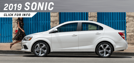 Browse our 2019 Sonic model information at Capitol Chevrolet in Salem, OR