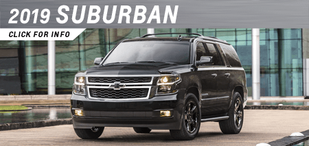 Browse our 2019 Suburban model information at Capitol Chevrolet in Salem, OR