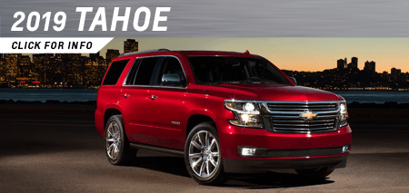 Click to research the new 2019 Chevrolet Tahoe model at Capitol Chevrolet in Salem, OR