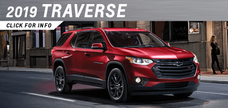 Click to research the new 2019 Chevrolet Traverse model at Capitol Chevrolet in Salem, OR