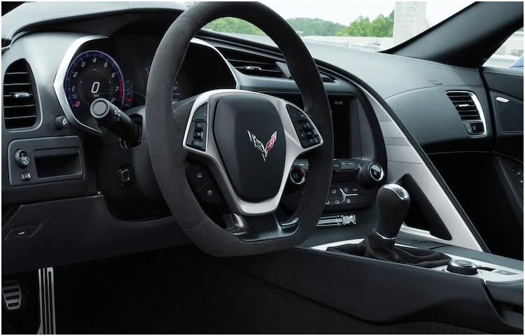 new 2019 corvette interior styling