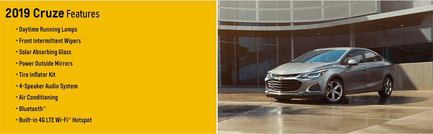 Chevy Model Overview: 2019 Cruze Sedan and Hatch   Wilsonville, OR