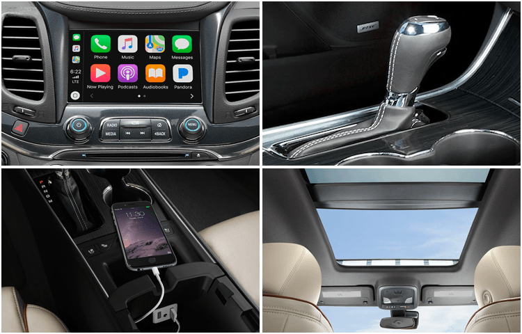 2019 Chevrolet Impala Interior Features