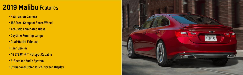 2019 Chevy Malibu: Trim Levels, Configurations and
