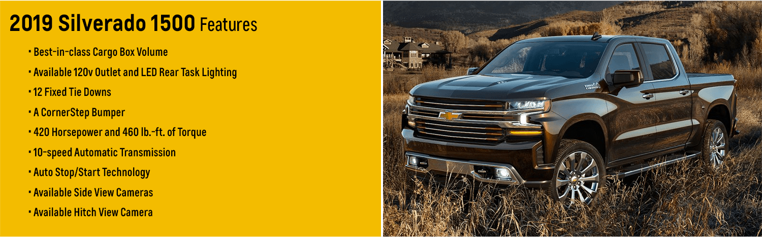 The All New 2019 Chevy Silverado | The Ultimate Truck for