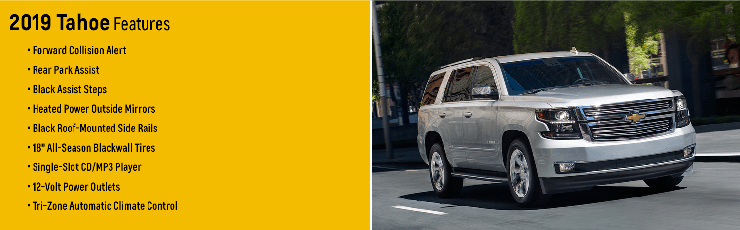 2019 Chevy Tahoe Full Size Suv For Sale At Capitol Chevrolet