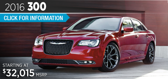 Click to Research The 2016 Chrysler 300 Model in Tacoma, WA