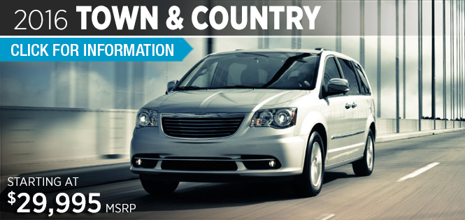 Click to Research The 2016 Chrysler Town & Country Model in Tacoma, WA