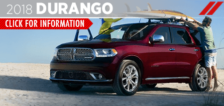 Research the 2018 Dodge Durango SUV at Grieger's Motors in Valparaiso, IN