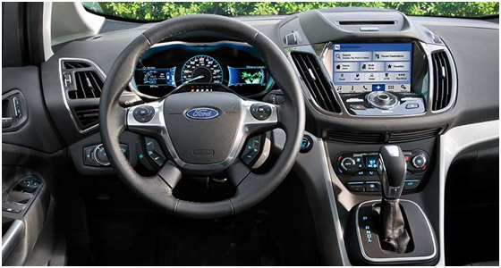 2016 Ford C-Max Model Interior Design