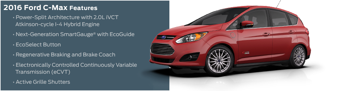 2016 Ford C-Max Model Features