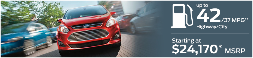 2016 Ford C-Max Model MSRP