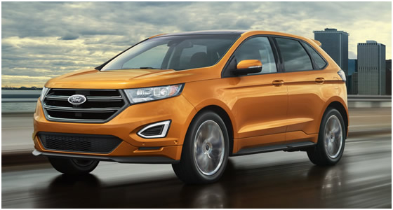 2016 Ford Edge Model Exterior Style