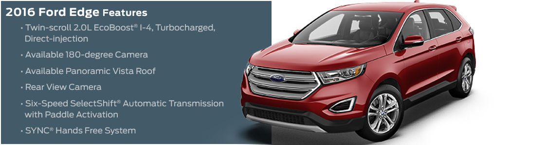 2016 Ford Edge Model Features
