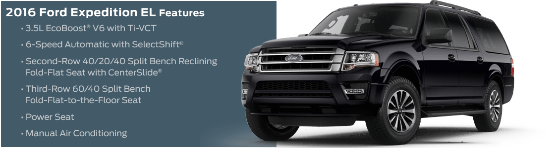 2016 Ford Expedition EL Trim Model Features
