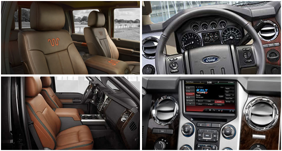 2016 Ford F-450 Model Interior Style