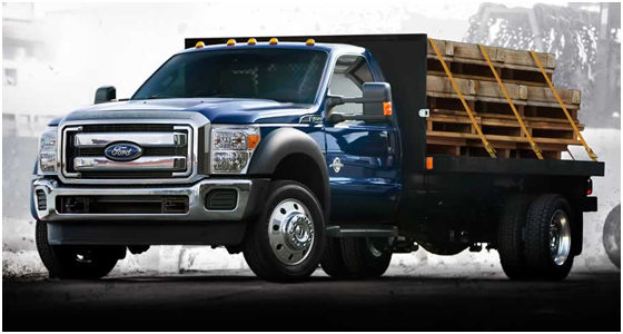 2016 Ford F-550 Model Exterior Style