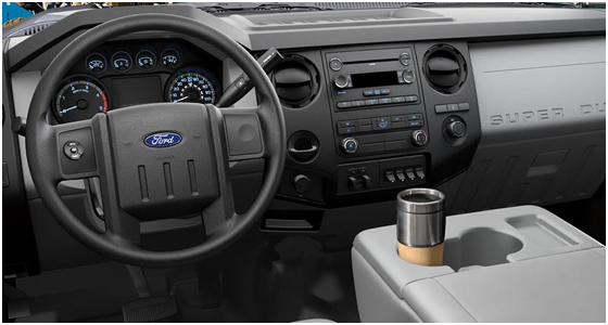 2016 Ford F-550 Model Interior Design