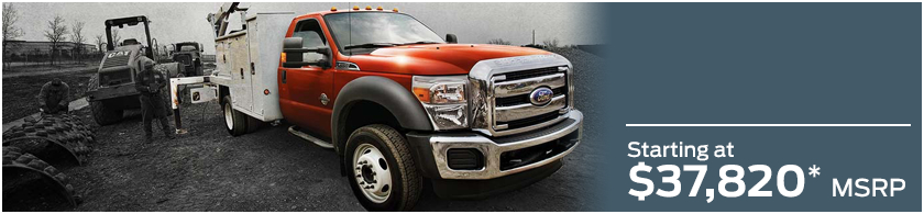 2016 Ford F-550 Model MSRP