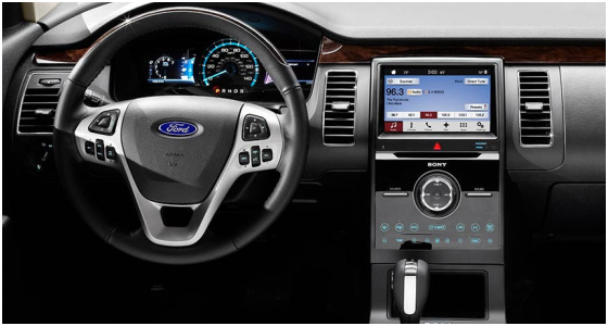 2016 Ford Flex Model Interior Design